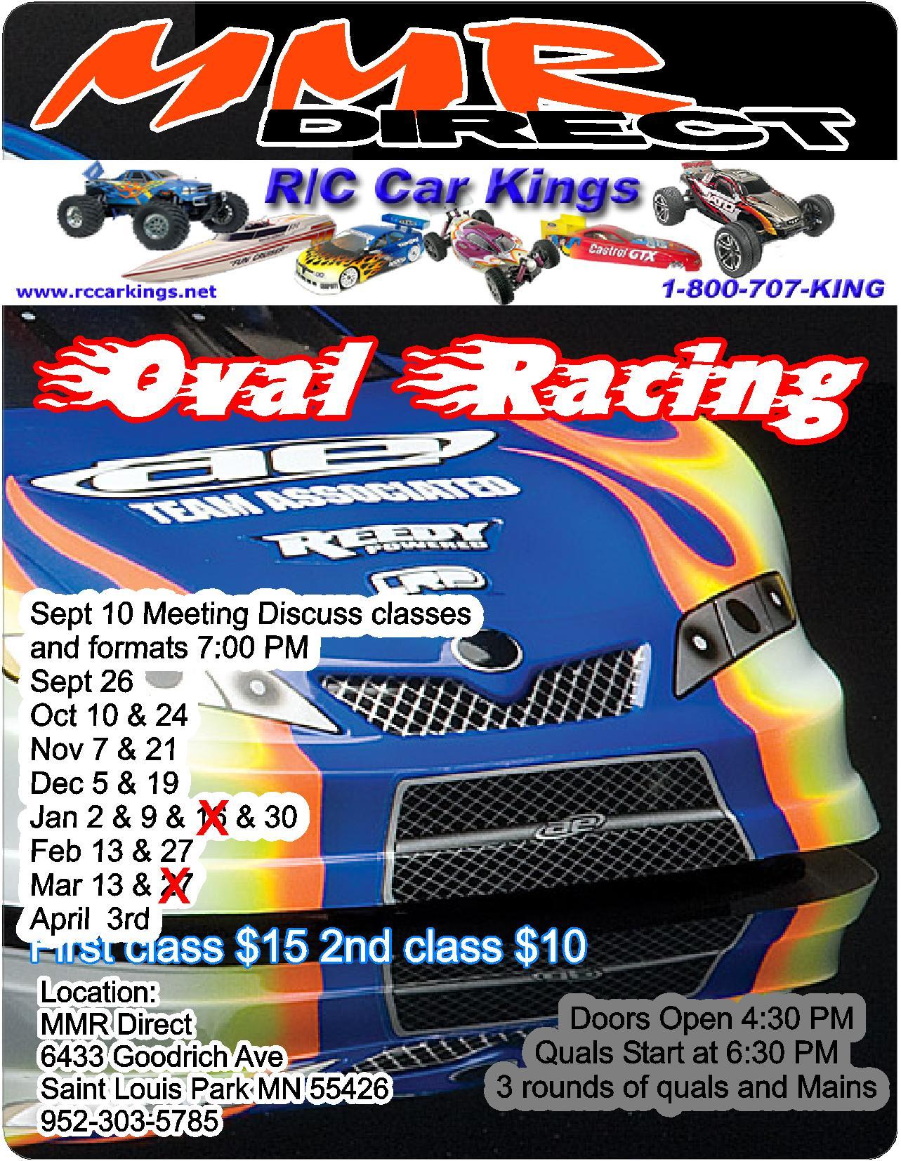 Rc Car Kings Carpet Oval Program R C Tech Forums